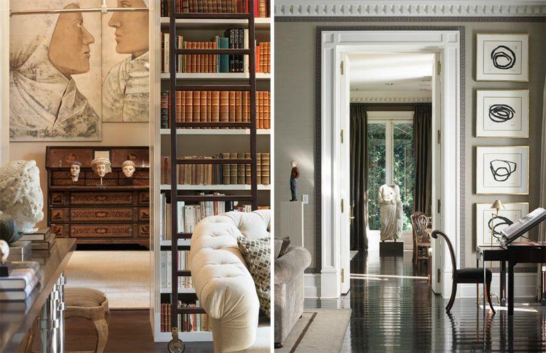 decoración de una casa en Madrid por Luis Bustamante Luis - interieur design studio luis bustamente