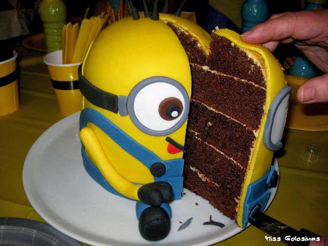 Minion kuchen 3d backen