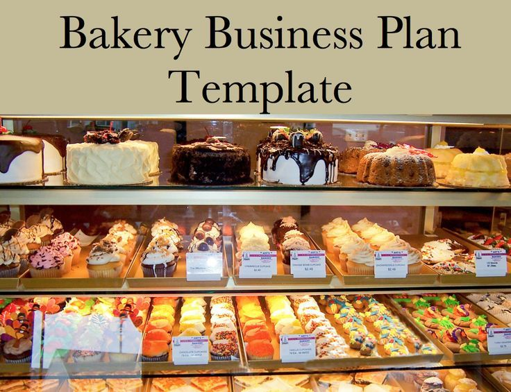 Bakery Business Plan Template Bakery business, Home