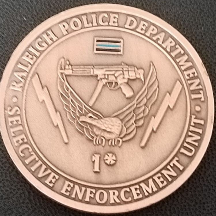 Rare Raleigh Pd Swat Police Coin Phoenix Challenge Coins Custom Challenge Coins Swat Police Challenge Coins