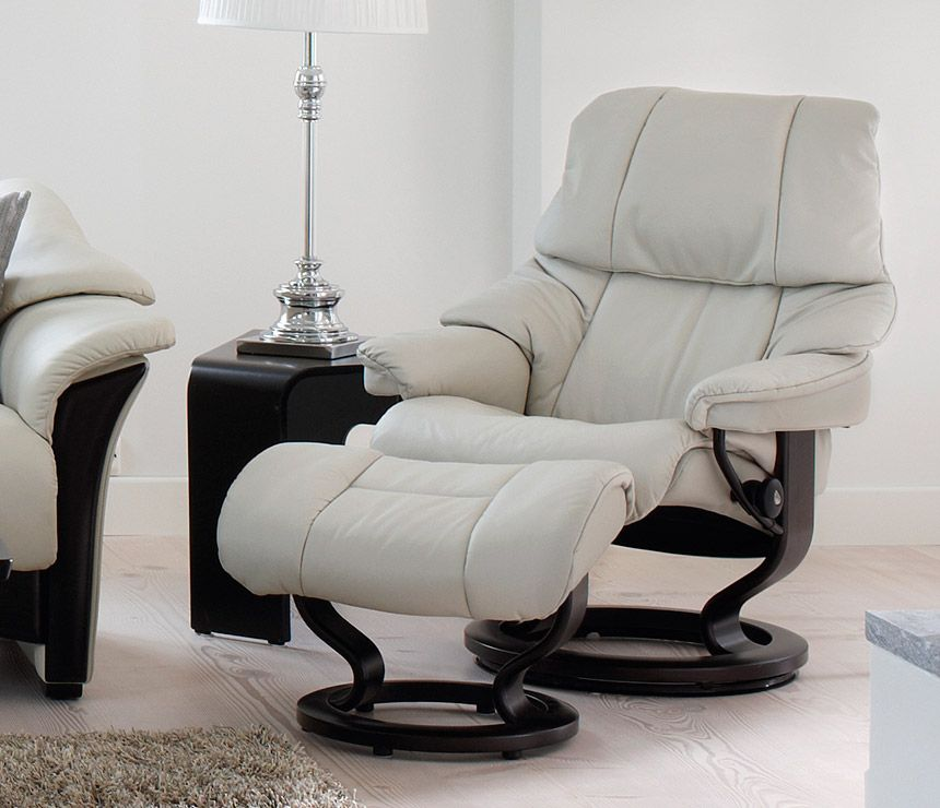 Stressless Recliners Reno Large Recliner u0026 Ottoman Paloma Sand u0026 Teak by Stressless by Ekornes available at Rotmans in Worcester MA | Pinterest | Recliner ... & Stressless Recliners Reno Large Recliner u0026 Ottoman: Paloma Sand ... islam-shia.org