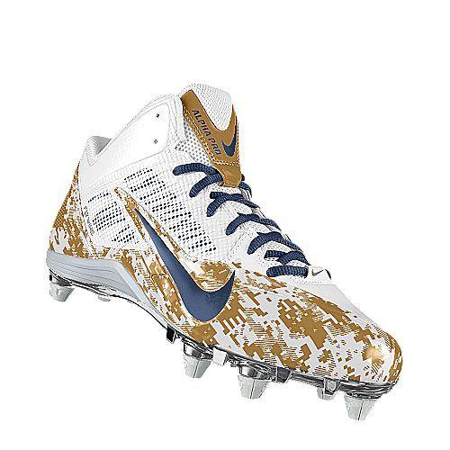 Chaussure de football américain Nike Alpha Pro 3/4 iD pour Homme ...