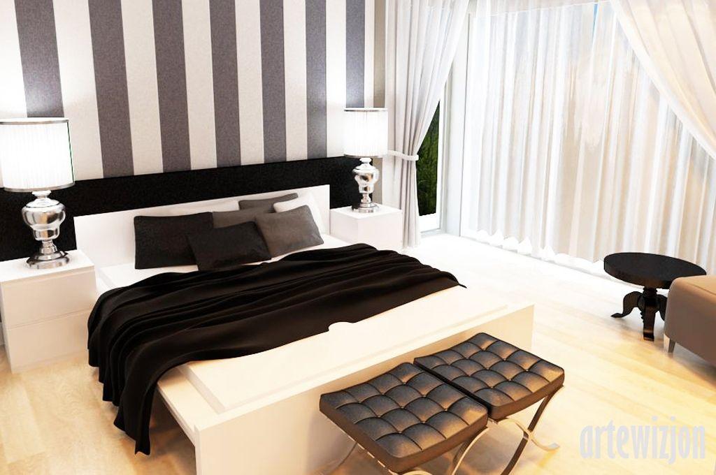 Nowoczesna Sypialnia Sypialnia In 2019 Bedroom Wall