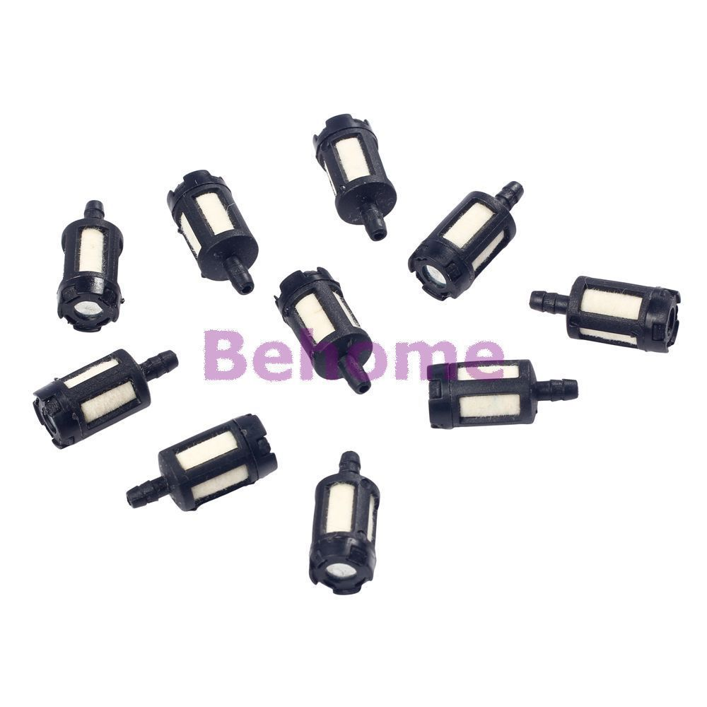 $3 89 - 10pcs universal motor mini small engine fram plastic inline fuel  filter #ebay #