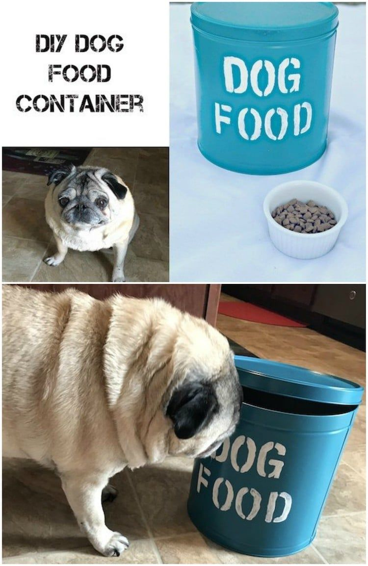 Diy Dog Food Container Dog Food Container Pet Food Container