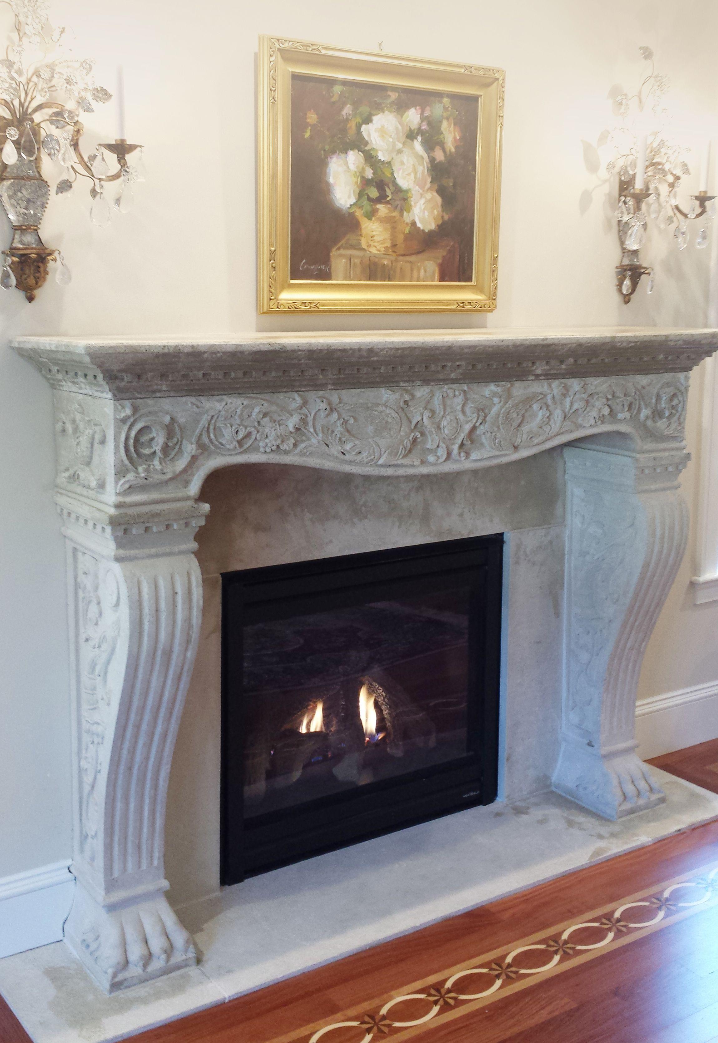 Vincenza Cornerstone Architectural Products Llc Fireplace Mantels Fireplace Surrounds Fireplace