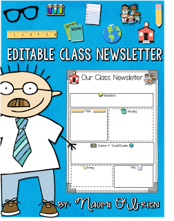Class Newsletters Freebie Included  Teaching
