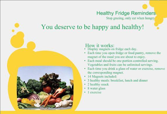 14 Healthy Fridge Reminders