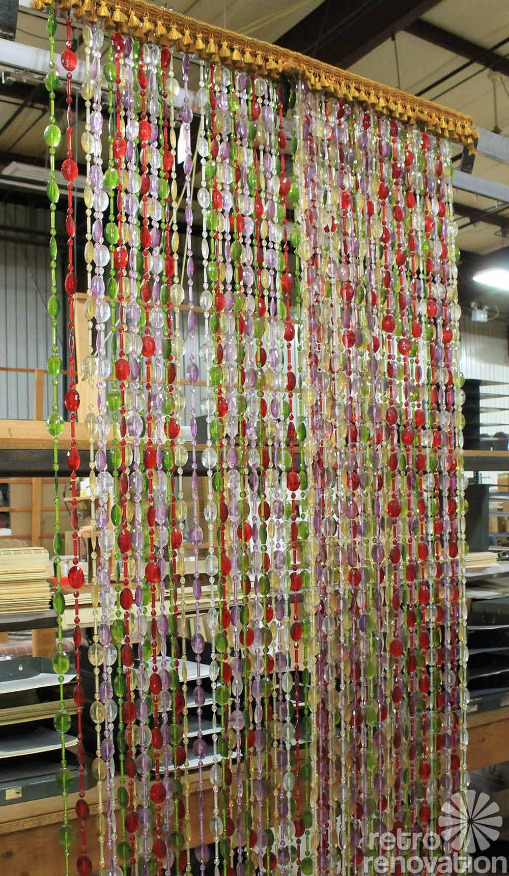 Beauti Vue Beaded Curtains Made In The Usa New Old Stock In 13