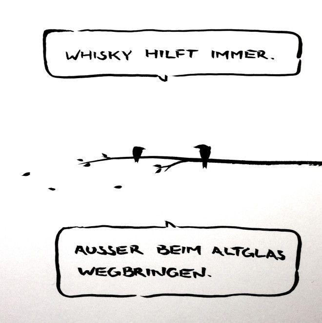 Galerie Meta Bene Tusche Cartoons Wahrheit Online Altglas