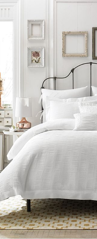Great French Country Farmhouse Bedroom   Love The Bed Frame, Headboard, And Plush  Linens