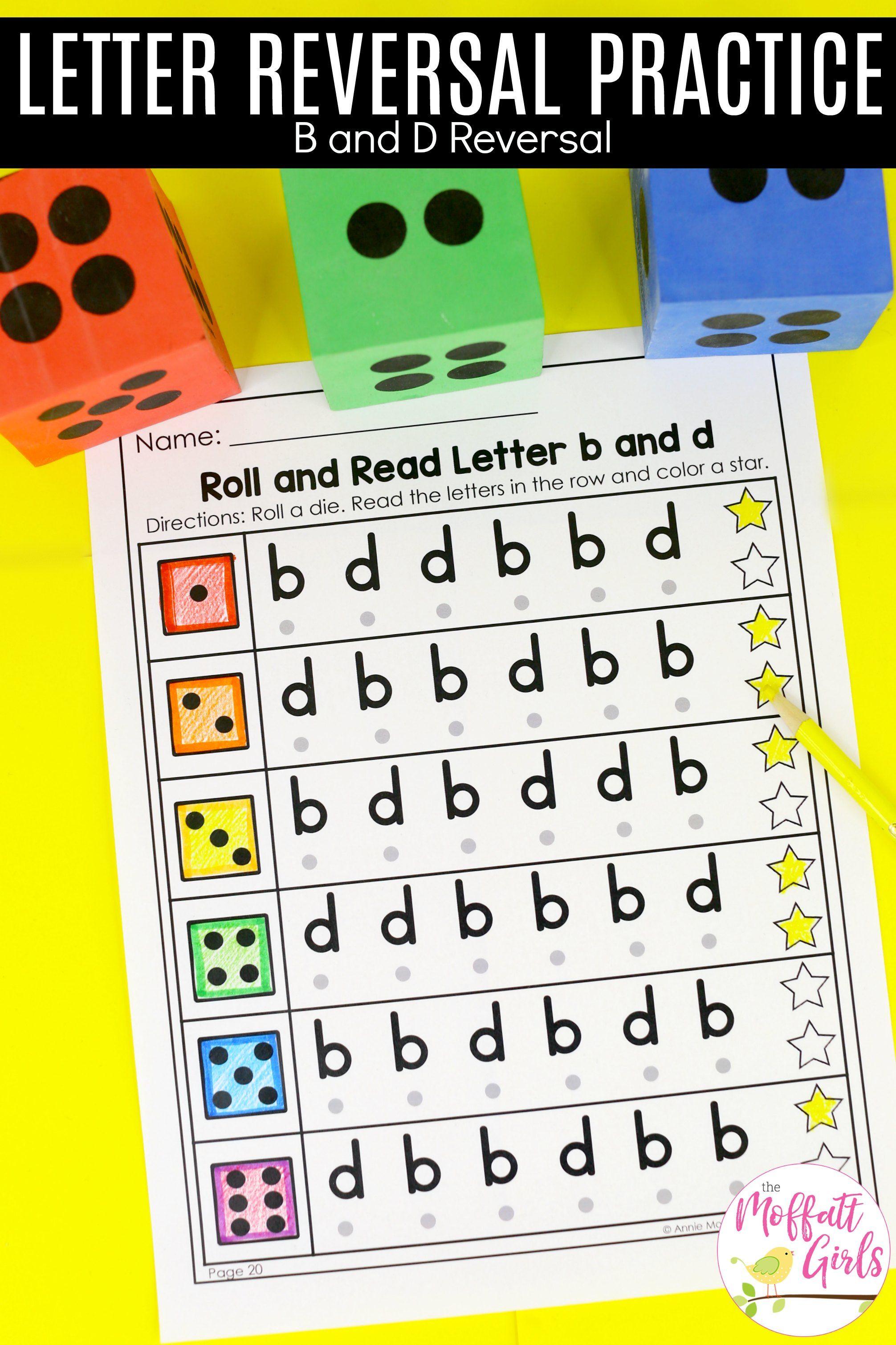 Letter Reversal Practice In
