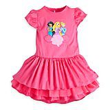Disney Princess Pink Woven Dress for Girls