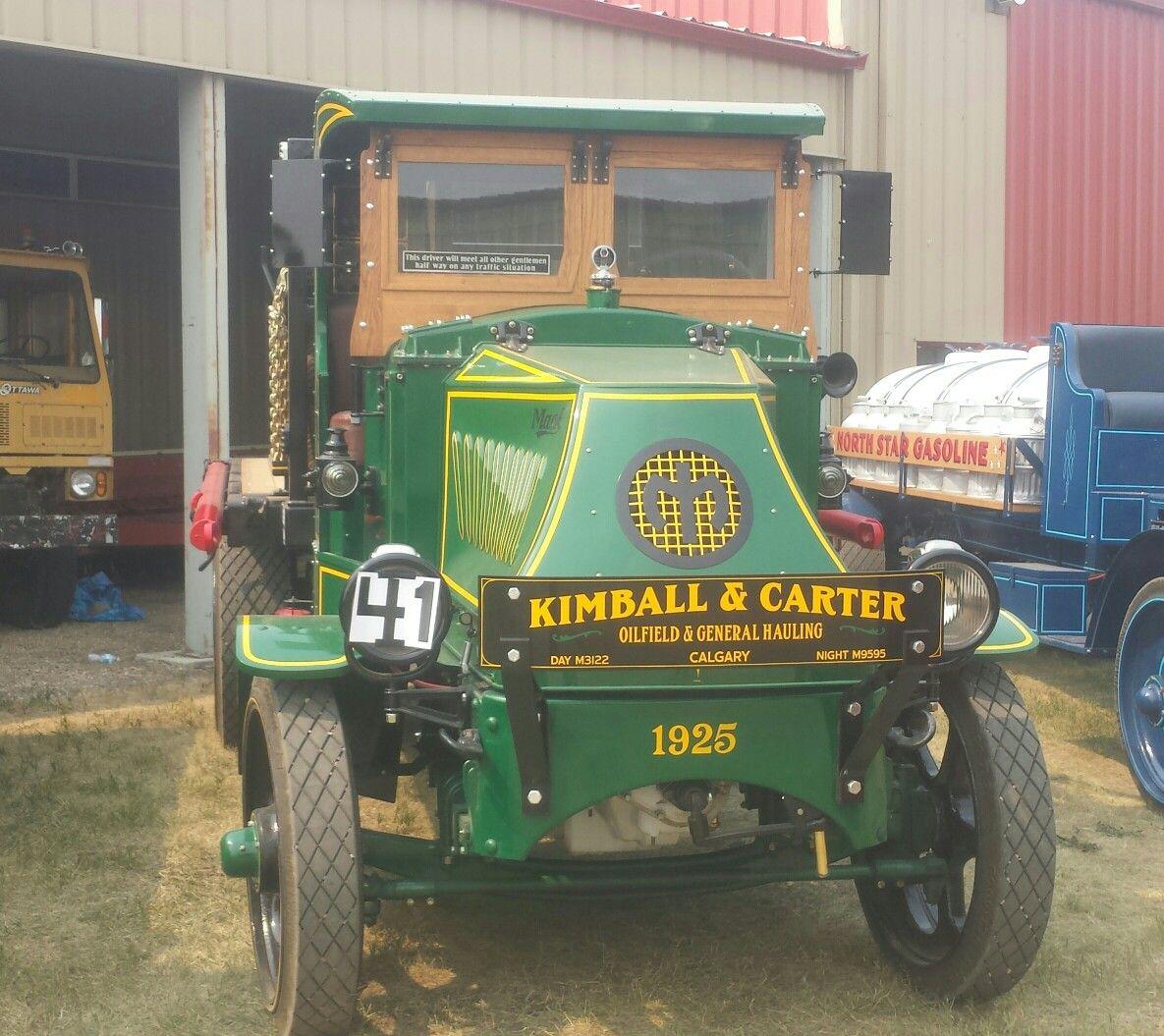 Kimble &carter Calgary ab 1925 mack. (With images