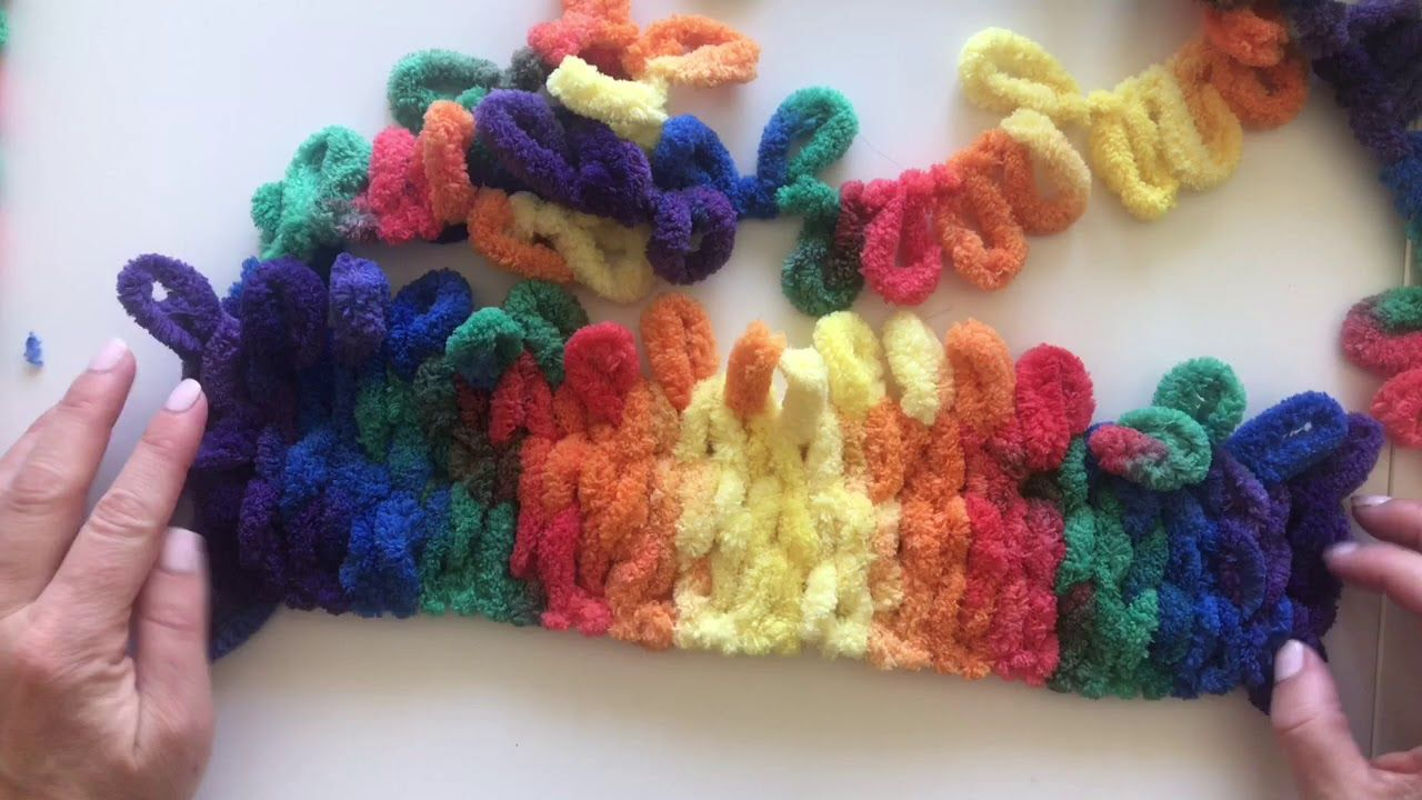 how to make a blanket with yarn youtube