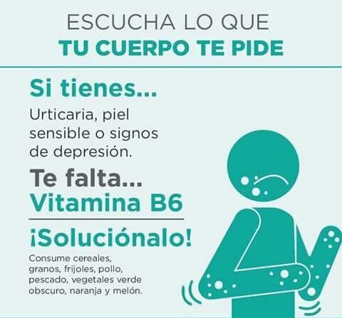 Falta de vitamina B6