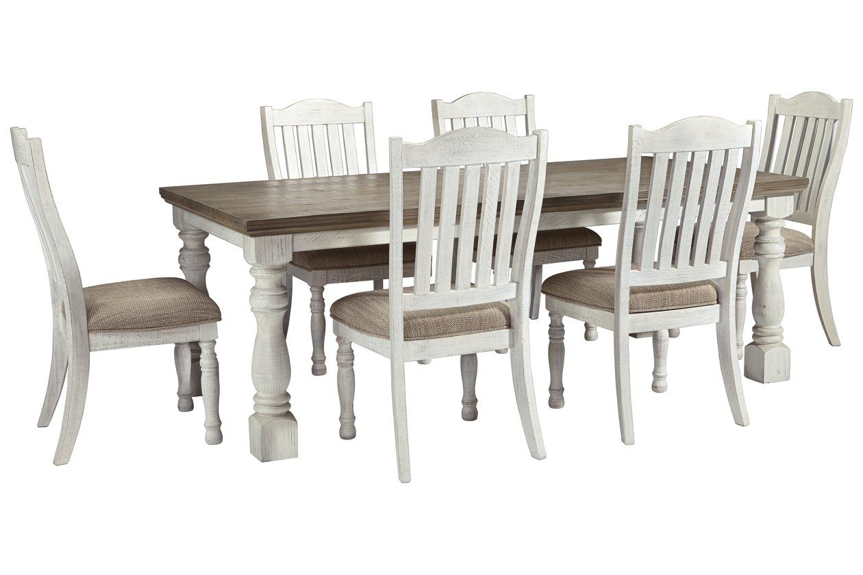 Havalance 7 Piece Dining Room Package Ashley Furniture Homestore