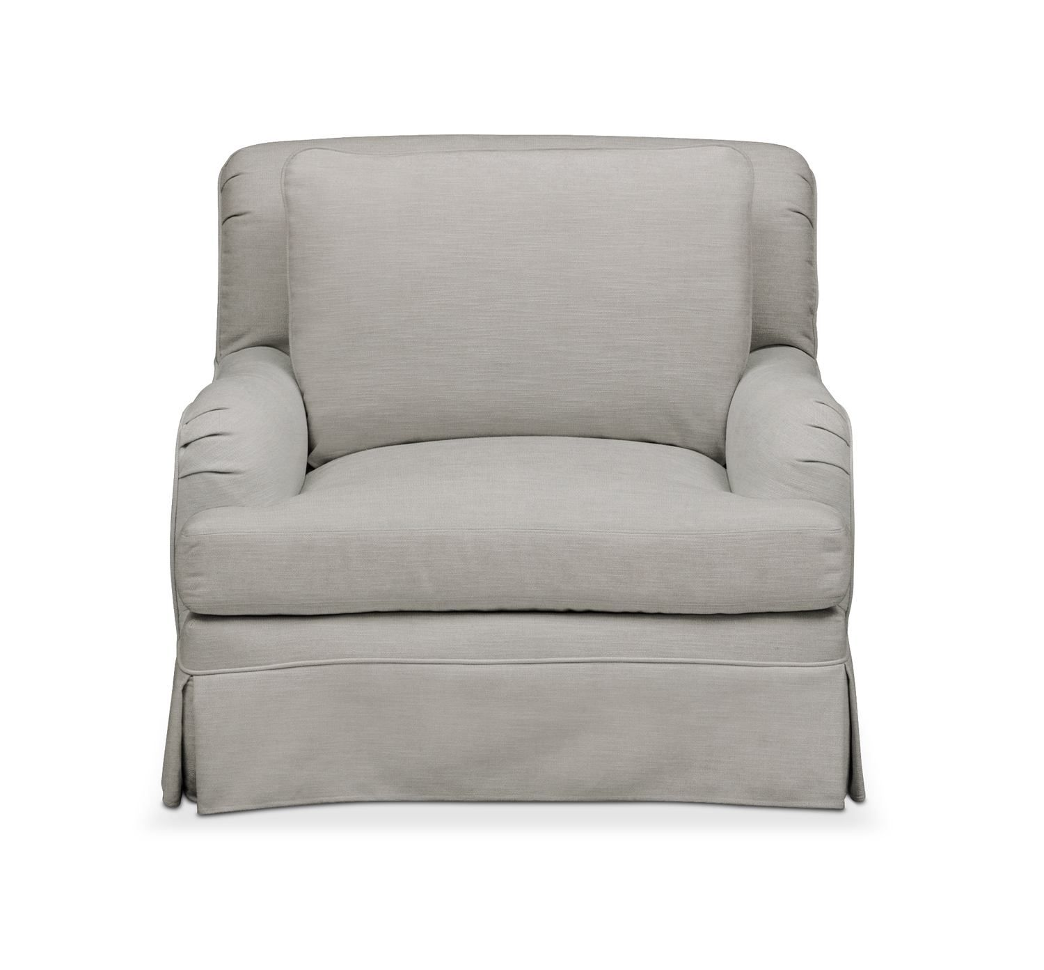 Campbell Chair Cumulus in Dudley Gray Campbell
