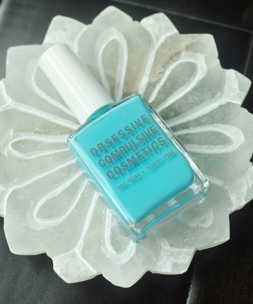 Obsessive Compulsive Cosmetics Nail Color in Pool Boy - the perfect blue for Summer!