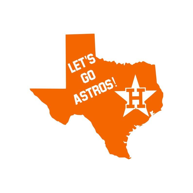 Lets Go Astrossvg Jpg Png Vector Pdf Digital Download Etsy Greeting Cards Handmade Digital Download Etsy Astros