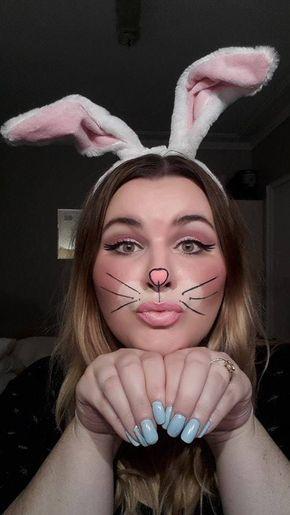 Bunny Halloween Makeup Ideas - MagMent