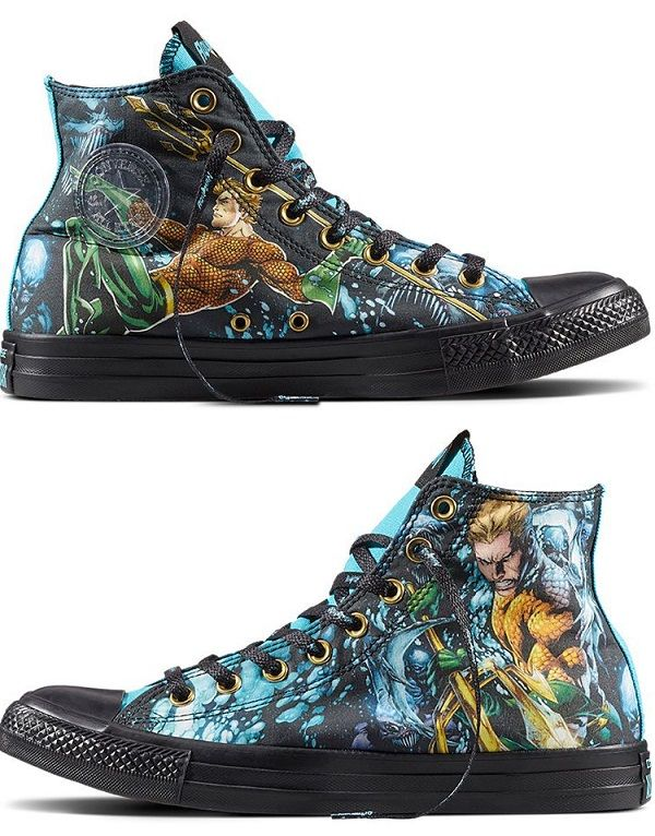 buy online 6b339 1c202 Aquaman Justice League Converse Chuck Taylor All Star