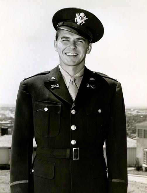 Image result for ronald reagan in ww2