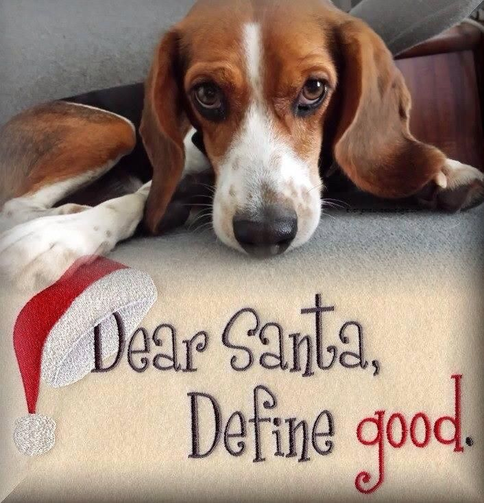 beagles christmas | Beagle Christmas Cards | Dog Breeds Picture ...