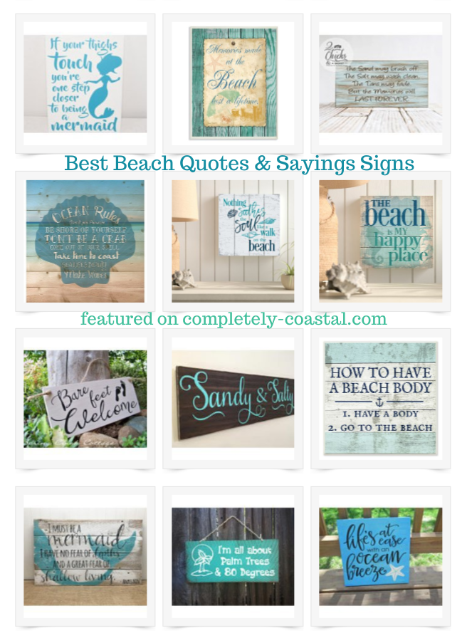 Beach Signs Sayings Quotes For Those Who Love The Sea