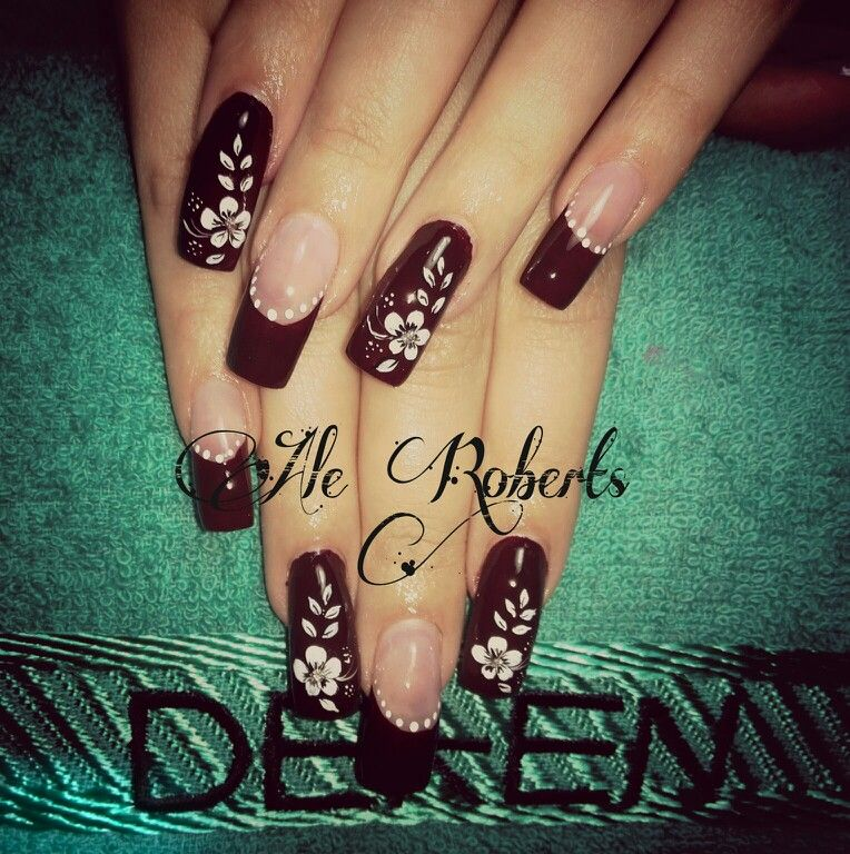 Sangre Toro Uñas Nails Manicure Y Nail Art