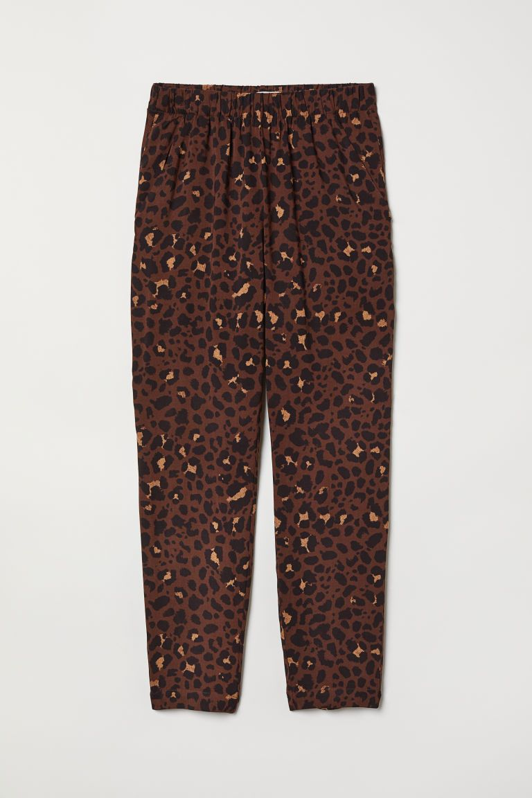 28833bb02112 H&M Pull-on Pants - Brown | my future wardrobe | Pull on pants ...
