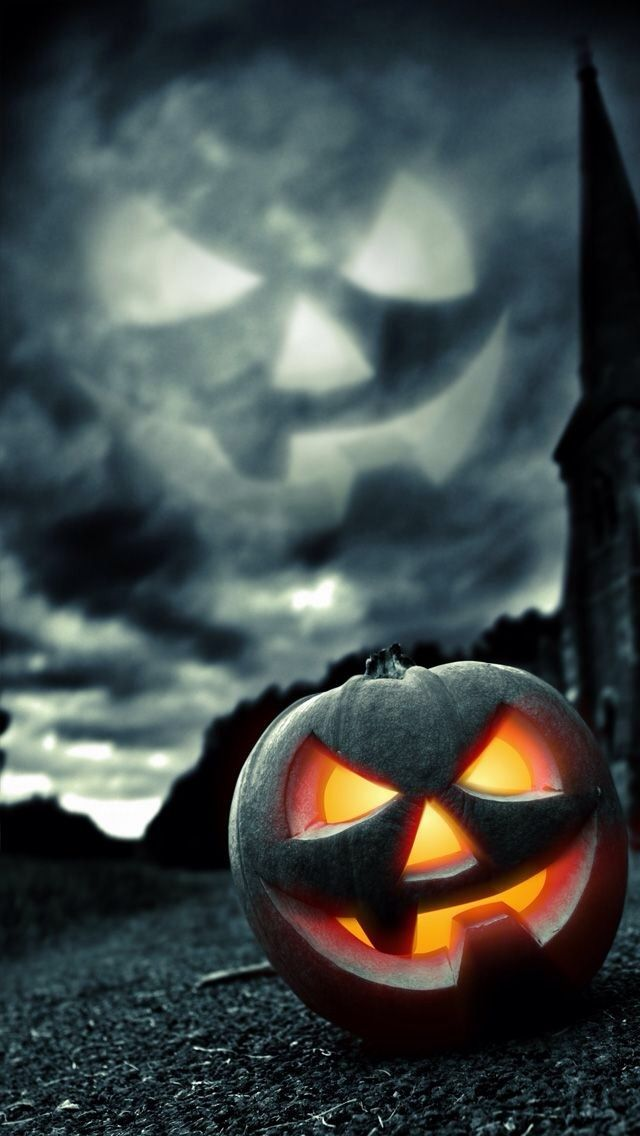 HALLOWEEN iPhone 5 Wallpapers Halloween wallpaper, Happy