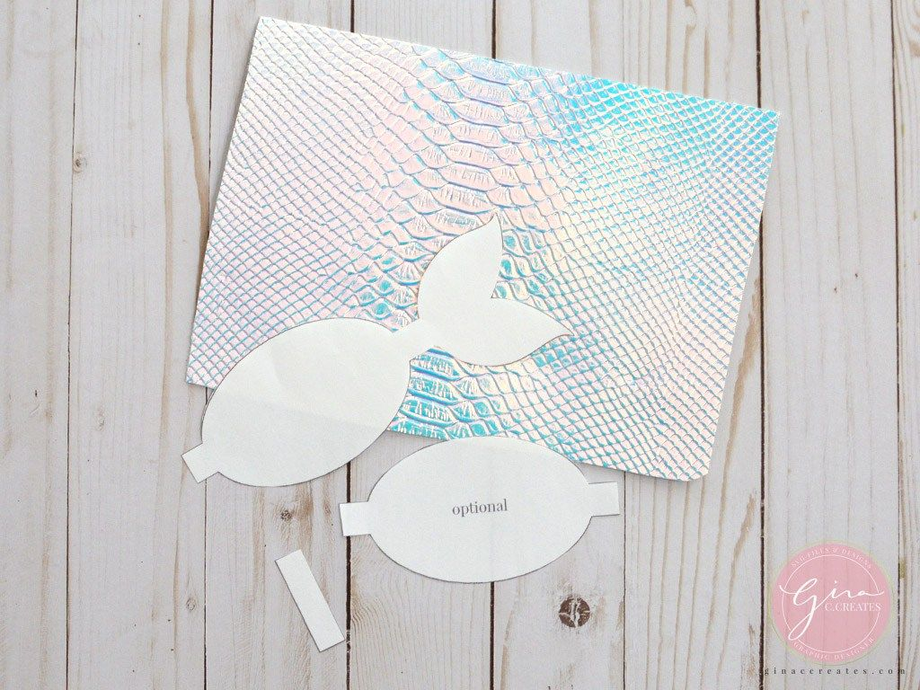 mermaid tail bow printable template Bow template, Bow