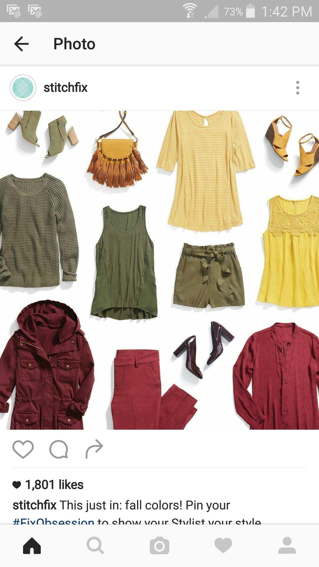 Love the green sweater and burgundy anorak!