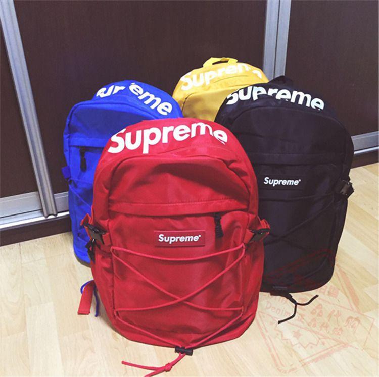 d3cfae7c2 New Supreme 16ss 40th Backpack Supreme Base Camp Crimp Backpack ...