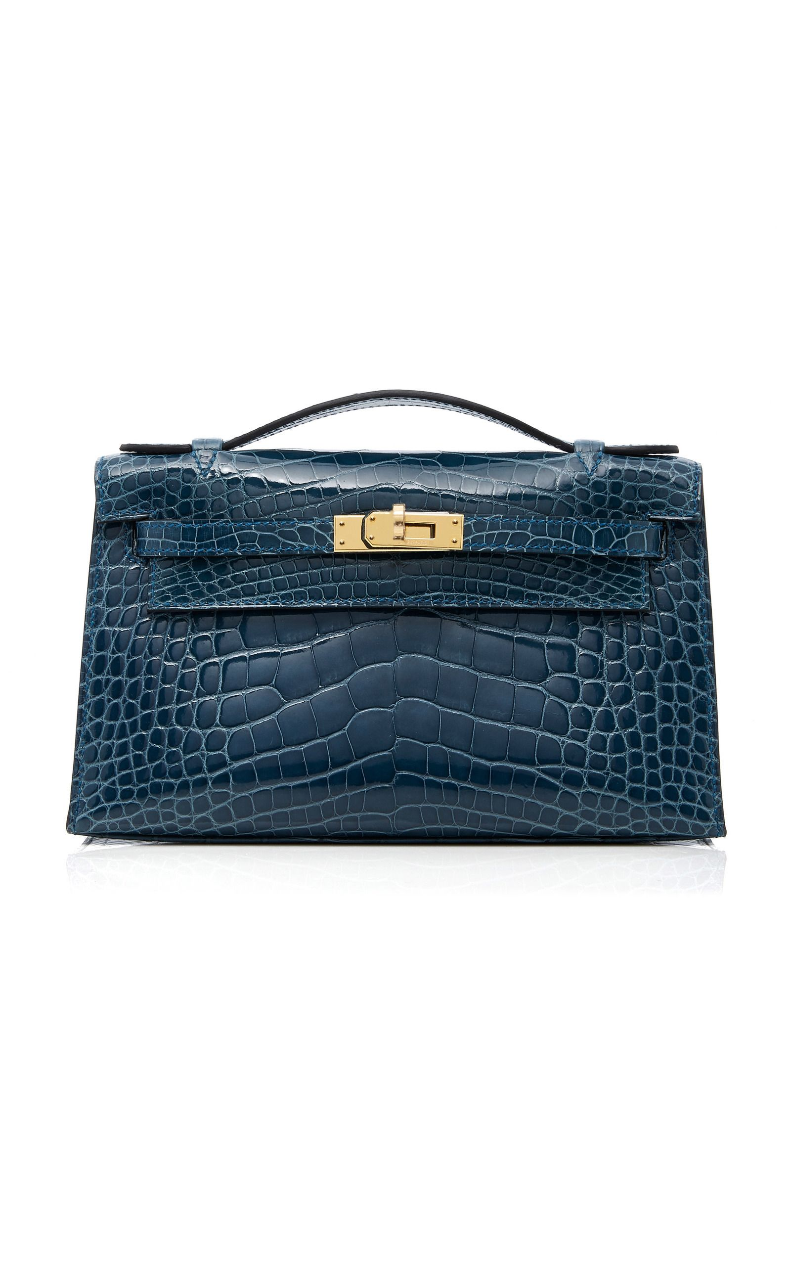 08af3f0b1c9dc Hermes Colvert Shiny Alligator Kelly Pochette by HERITAGE AUCTIONS SPECIAL  COLLECTIONS for Preorder on Moda Operandi