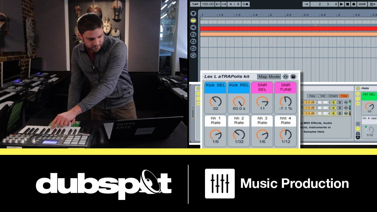 Ableton tutorial trap music patterns how to build an