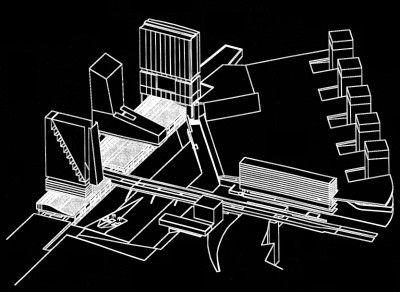 oma euralille massing concepts rem koolhaas architecture urban planning. Black Bedroom Furniture Sets. Home Design Ideas