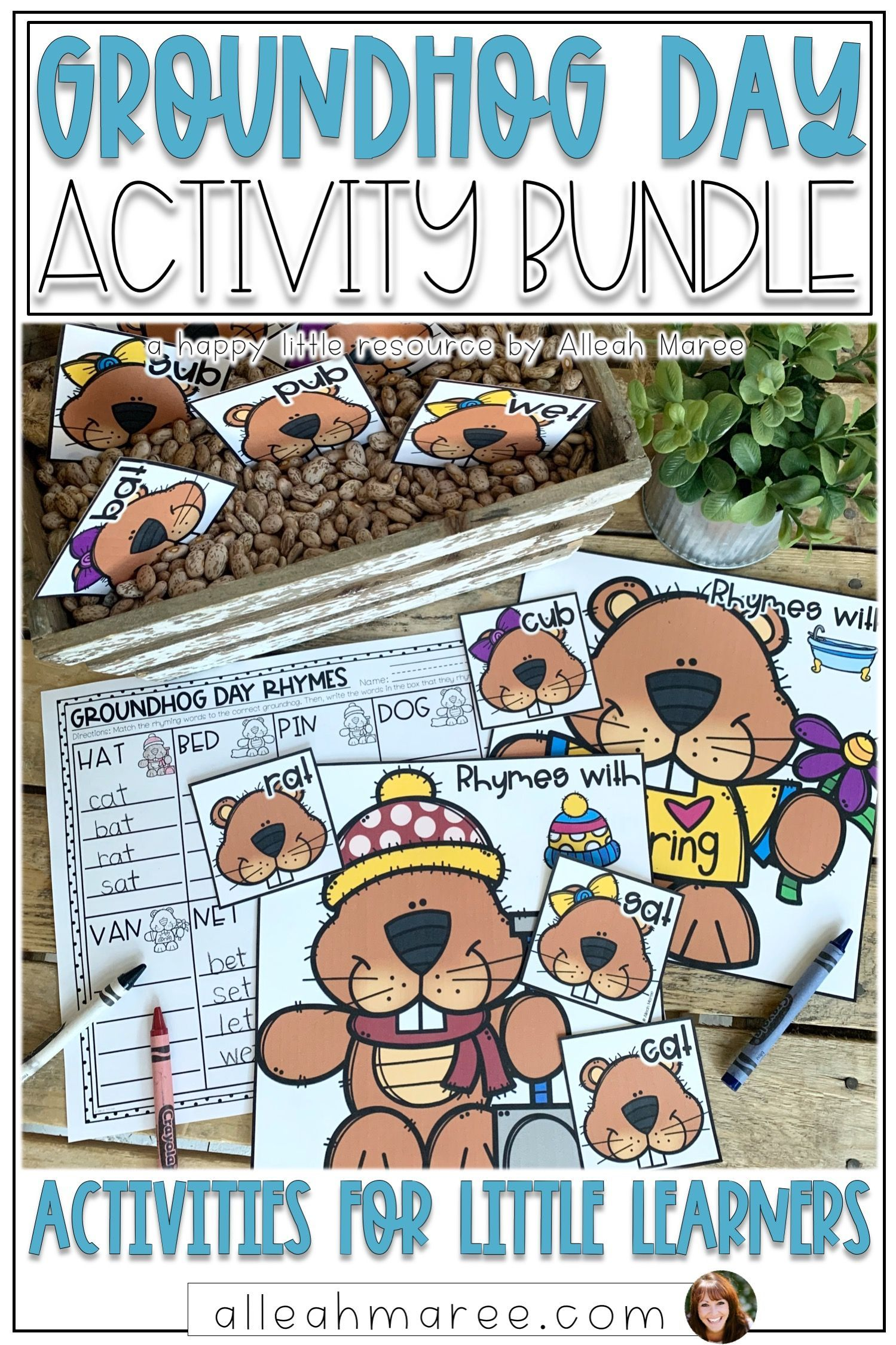 Groundhog Day Activities Bundle
