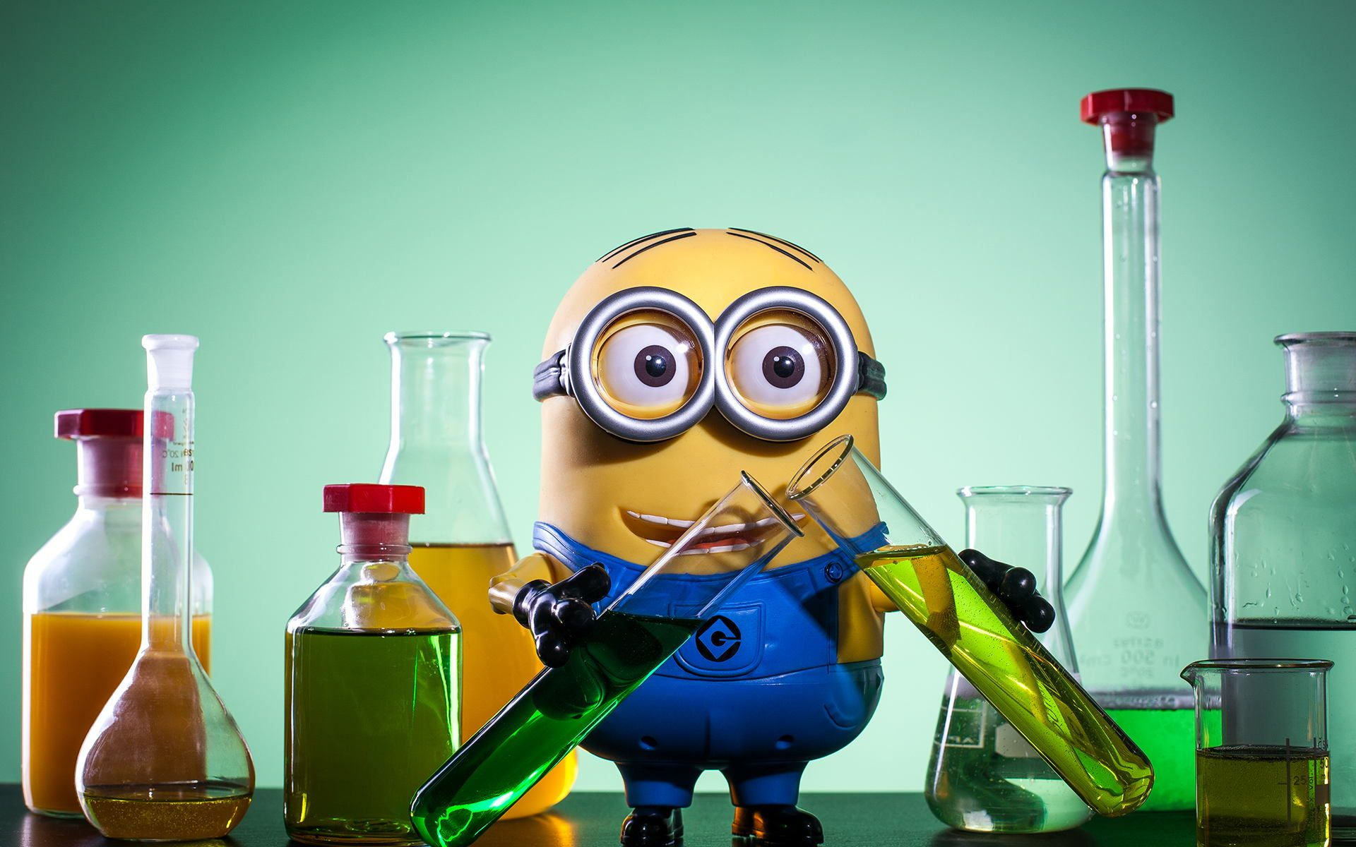 Photograph Minion Does Science By James Abbott Donnelly
