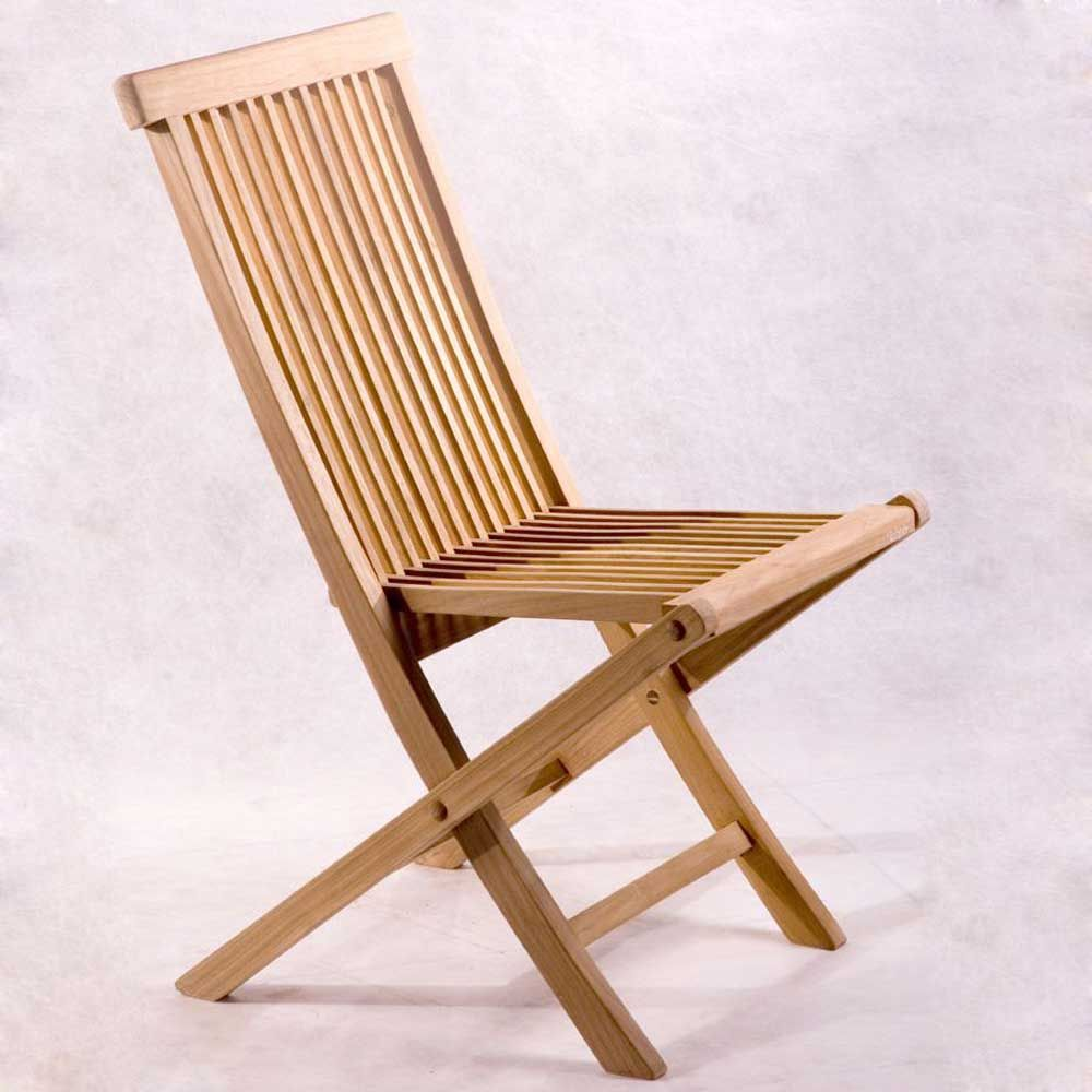 Wooden folding chairs offer a touch of style that just works. These foldable  chairs are lightweight and much cost effectively priced. - Classic Solid Teak Folding Chairs Style Wooden Diy Pinterest