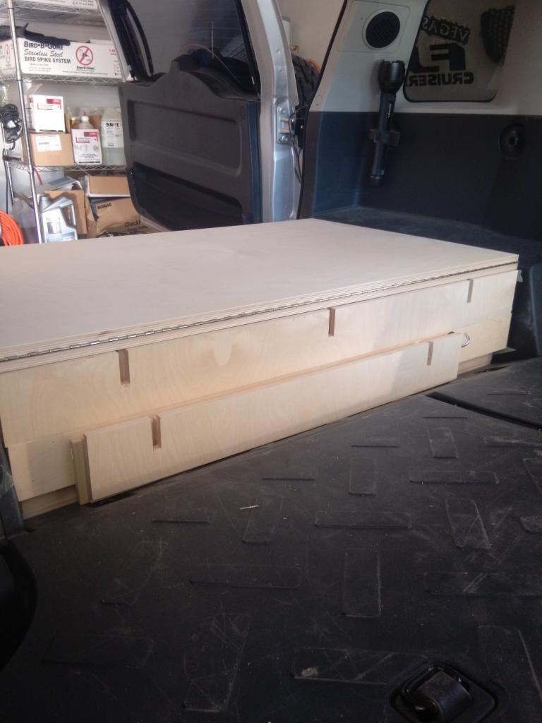 Rear Storage Box Sleeping Platform Without Removal Of Seats Toyota Fj Trailer Wiring Cruiser Forum