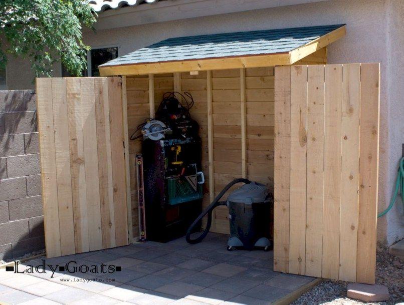 Practical Diy Outdoor Storage Ideas For Your Garden 19 Diy