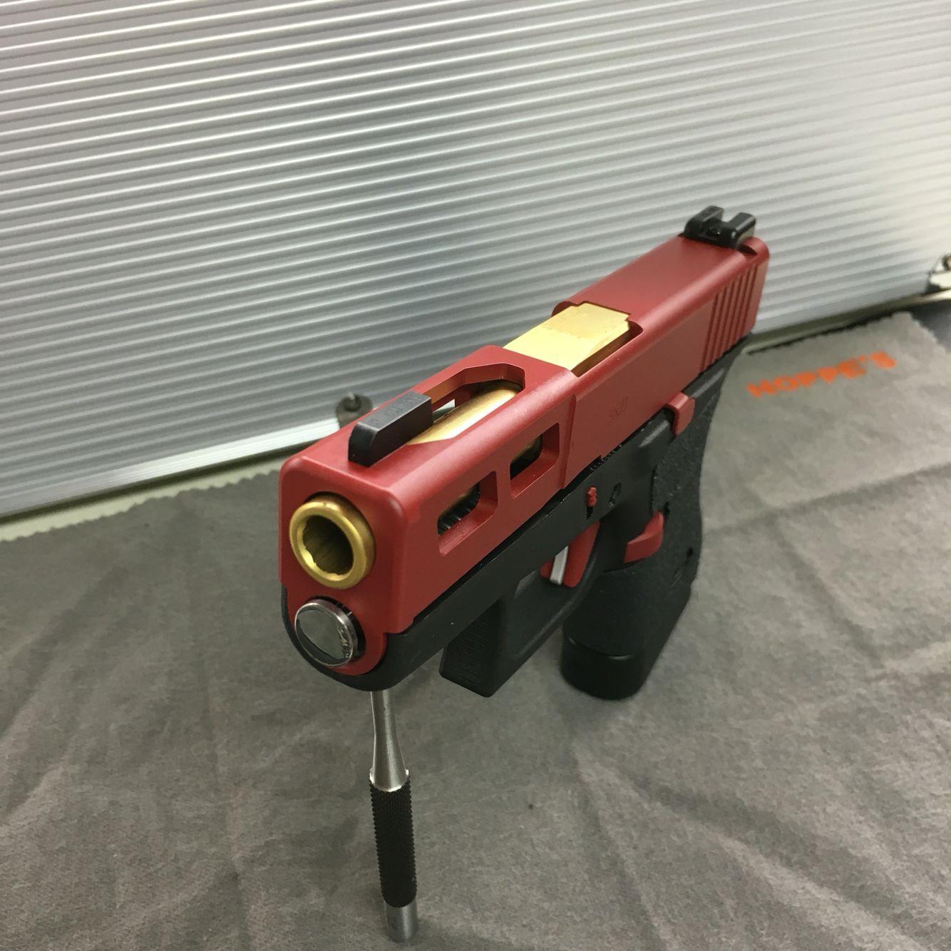 Custom Glock 43   Slide Machining   Custom glock, Guns ...