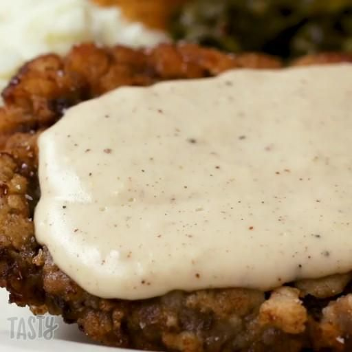 Country Fried Steak And Gravy - Simply foods hub