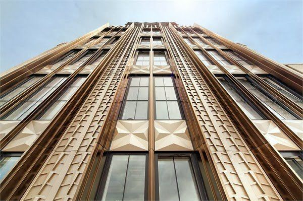 Chanin Builing Architecture Tower Art Deco Architecture
