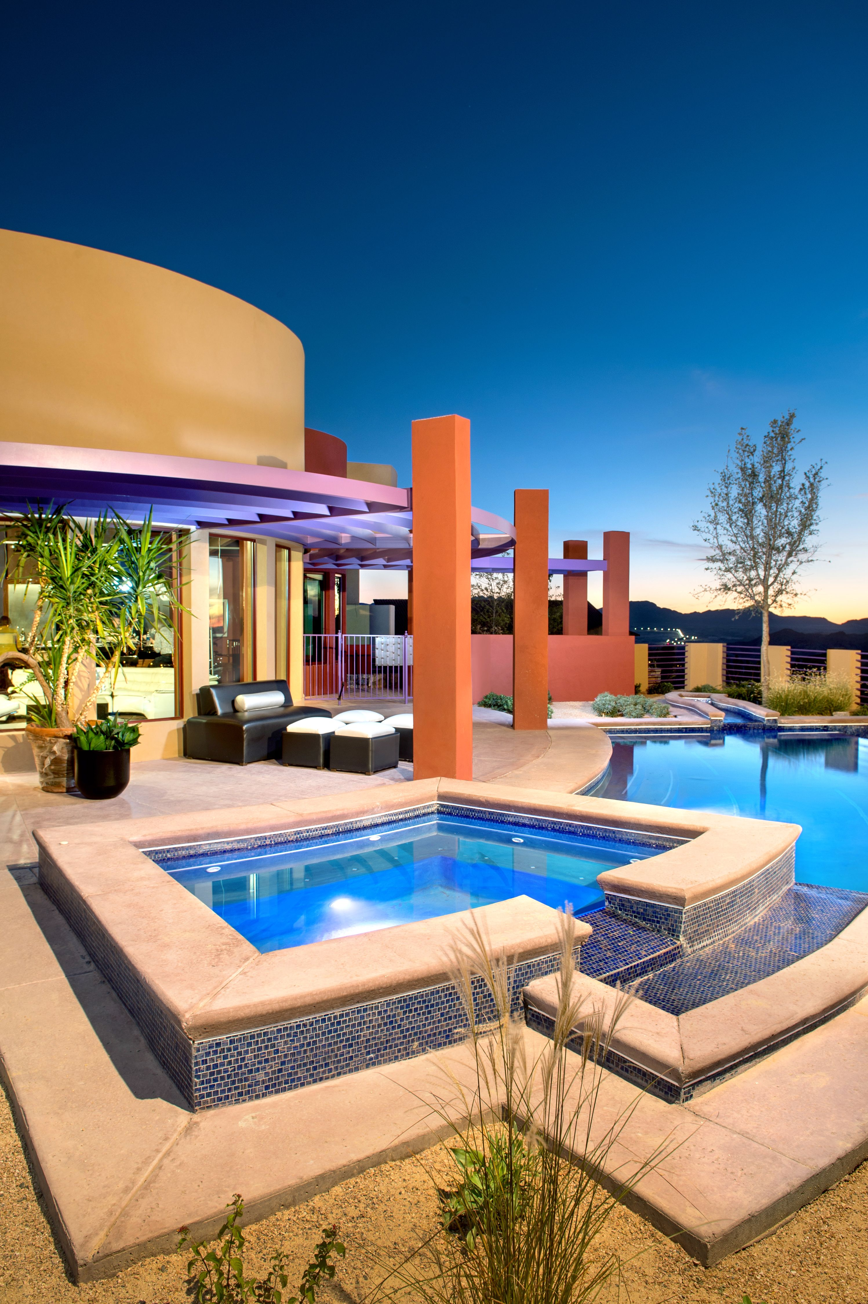 Now that is an outdoor living space! | Southwestern home ... on Outdoor Living Spaces Nw id=82169