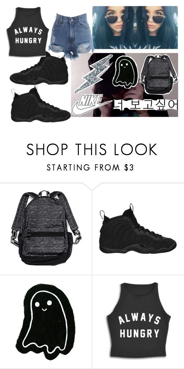 """the accuracy"" by sashaaxoxx ❤ liked on Polyvore featuring Brinley Co, NIKE and Victoria's Secret"
