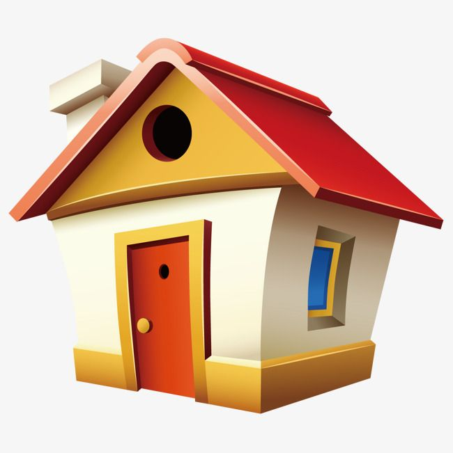 منزل لطيف جميل منزل كرتون Png و فيكتور Cute House Small House Images Image House