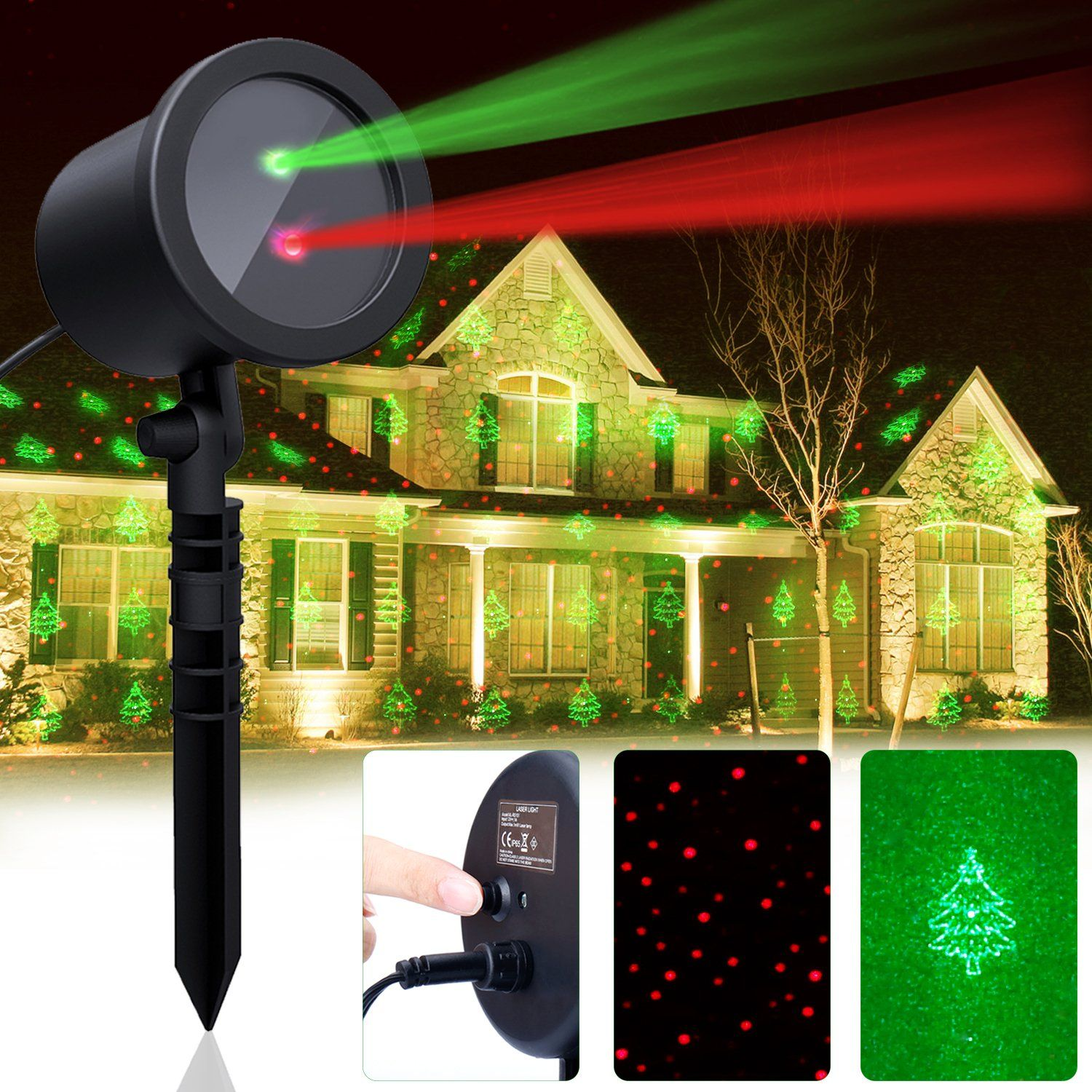 Modern Christmas Laser Lights Picture Collection Merry Christmas